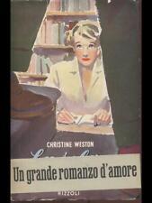 LA SELVA OSCURA  CHRISTINE WESTON RIZZOLI 1952