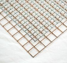 Welded Steel Weld Mesh Sheets Panels Fence Fencing Galvanised Garden Aviary