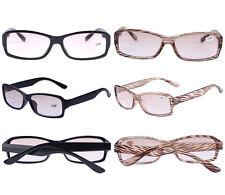 Bifocal Reading Glasses Light Brown Tint Sunglasses Reader +1 +1.5 +2 +2.5 +3 +4