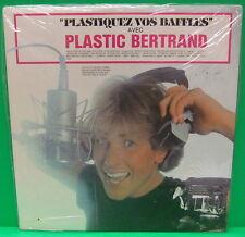 Plastic Bertrand Plastiquez Vos Baffles 1981 Belgian Pop LP Album SEALED MINT