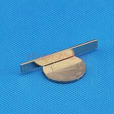 Lots 50mm x 6mm x 1.5mm Block Strong Rare Earth Neodymium Long  Magnet