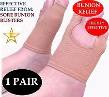 Gel Bunion Protector Toe Separator Straightener Alignment Pain Relief Foot Pad
