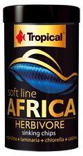 Tropical SUPER PREMIUM SOFT LINE Africa HERBIVORE, affondamento chip.