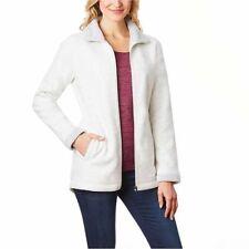 32 Degrees Weatherproof Women's Fleece Jacket Heather Vanilla Space Dye