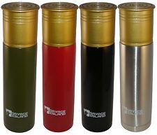 500ml/750ml Steel Thermal Shotgun Cartridge Flask Shooting Hunting Gift