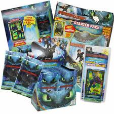 Dragons 3 Die geheime Welt - Trading Cards-Display,Starter,Booster zum aussuchen