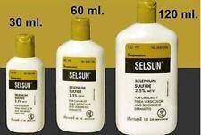 SELSUN Anti Dandruff Itch Scalp Shampoo SELENIUM SULFIDE 2.5%  30-60-120-ml
