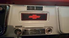 67-72 Chevy Truck Pickup Custom Radio Delete plate, 1967 1968 1969 1970 1971