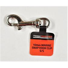 Taskmaster Marine Snap Hook Stainless Steel *Aust Brand- 10mm, 16mm Or 20mm