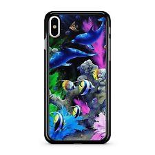 Colourful Sea Ocean Aquarium Tropical Whales Lovely Fish 2D Phone Case Cover