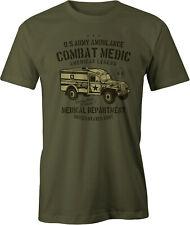 US Army Ambulance Retro T Shirt.
