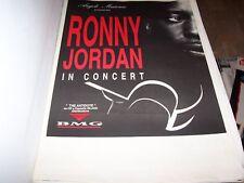 RONNY JORDAN-POSTER ITALY TOUR             70 x 110