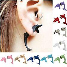 3D Ohrringe Delphin Ohrstecker dolphin Earring in 11 verschiedenen Farben