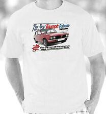 Triumph Dolomite Sprint1973-1980 Retro Brochure Style T-Shirt