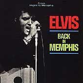 """ELVIS PRESLEY RARE """"BACK IN MEMPHIS"""" CD (RCA 1992)"""