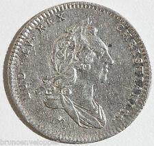 JETON EN ARGENT - LOUIS XV - TRESOR ROYAL - 1748 - 6,9 g