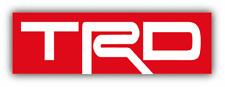 Toyota TRD Racing Logo Auto Car Bumper Sticker Decal - 3'', 5'', 6'' or 8''