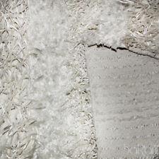 Tappeto Moderno Sissi Shaggy Pelo Lungo Morbido Soggiorno Multiuso Bianco SARANI