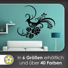waf0253 - Fasan Ranke Tribal Wandtattoo KIWISTAR - Aufkleber Wall Sticker
