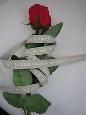 East of India Cinta Todos Los Largos Navidad Cinta 3172 Rojo Envoltura de regalo presente
