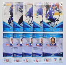 2011-12 KHL Barys Astana SILVER Pick a Player Card
