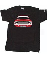 Custom HTees Camiseta-Cortina de Ford MK2 MKII, elija Coche Color & Plate, S-3XL