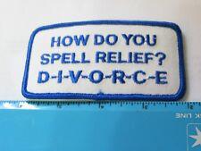 DIVORCE Patch ( 4679 ) *