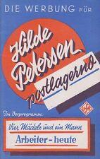 HILDE PETERSEN POSTLAGERND (WR '36) - SUSE GRAF