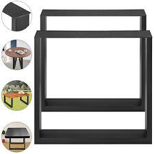 2x Piedi Tavolo Gambe Metallo Industrial Design Legs Metal Furniture