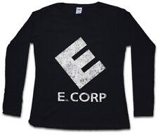 E CORP WOMEN LONG SLEEVE T-SHIRT fsociety Allsafe Hacker Evil Corp Mr. Robot