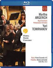 NOBEL PRIZE CONCERT 2009: MARTHA ARGERICH/YURITEMIRKANOV NEW BLU-RAY