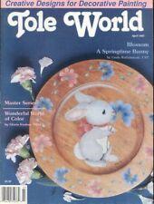 TOLE WORLD ~ April 1993 ~ 9 Designs