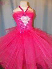 Girls Bat girl Pink Super hero Inspired costume Tutu dress  Fancy Halloween