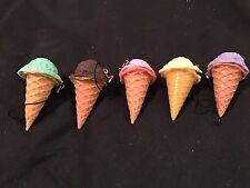 ICE CREAM SCOOP CONE MOBILE CHARM CUTE  KITSCH KAWAII RETRO JUNK FOOD STYLE