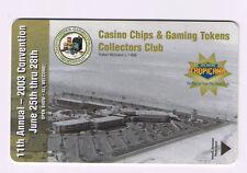 Tropicana Hotel CC&GT Collectors Club Room Key 2003 Las Vegas Nevada