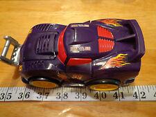 "7"" Playskool #33 Racecar Car Push & Go Crash & Pop Heavy Duty EUC"