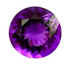 Top Dark Purple Round Brilliant Cut CZ AAAAA, Size 4 - 8 mm
