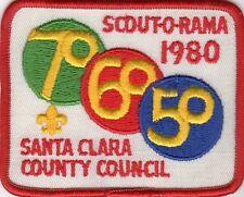 VINTAGE SCOUT-O-RAMA 1980 SANTA CLARA COUNTY COUNCIL