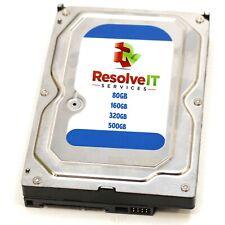 """*Major Brand* 80GB/160GB/320GB/500GB 3.5"""" SATA PC Desktop Hard Drive"""