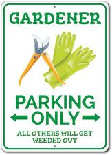 Plaque Garden Sign Park Yard Warning Decor Gift Idea for Gardener ENSA1002543