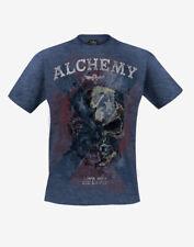 ALCHEMY ENGLAND APPAREL - HALF ZOMBIE T-SHIRT XL
