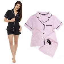 NEW Ladies Cotton ' Foxbury' Shortie Pyjama Set Nightwear