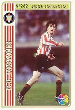 N°282 JOSE IGNACIO # CD.LOGRONES OFFICIAL TRADING CARD MUNDICROMO LIGA 1995