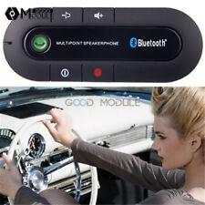 Wireless Bluetooth Hands Speakerphone Speaker Multipoint Visor Clip Free Car Kit