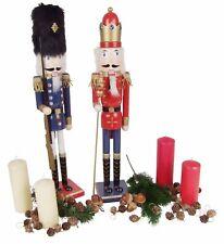 bois de casse-noisette 61cm Décoration Noël Noix Craquelin Roi Hussard