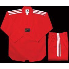 adidas Taekwondo Red CHAMPION 2 Uniform - TCC01-RD