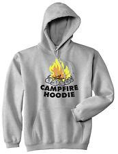 Campfire Hoodie Funny Firewood Summertime Camping Outdoor Hooded Sweatshirt