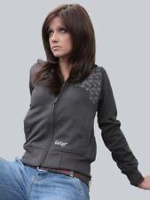 """Dickies Sweatjacke Damen Zip Sweater """"Jackbunny"""" Raven/grau Größen: XS - L"""