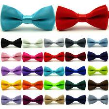 Kid Children Baby Boy Fashion Pre Tied Party Wedding Tuxedo Bowties Necktie
