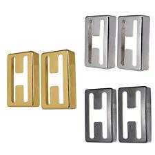 2pcs Electric Guitar Brass Pickup Cover Humbucker Caps Silver / Gold / Black